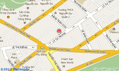 Showroom của NYX tại TP Hồ Chí Minh
