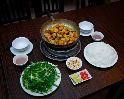 Chả cá - món ăn cổ truyền hấp dẫn của đất Kinh Kỳ