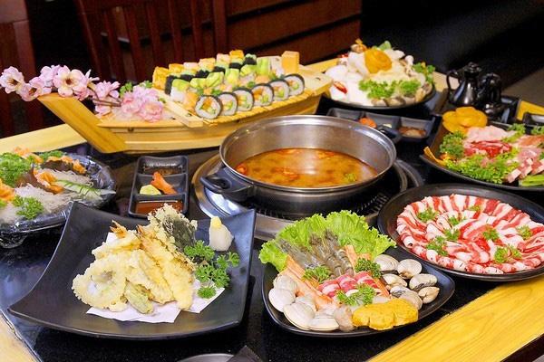 Thế giới các món lẩu và sushi hấp dẫn
