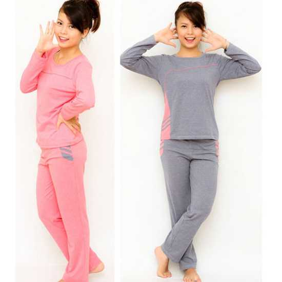 Bộ đồ mặc nhà Haprosimex (Có 2 màu hồng, ghi, hàng xuất Nhật)