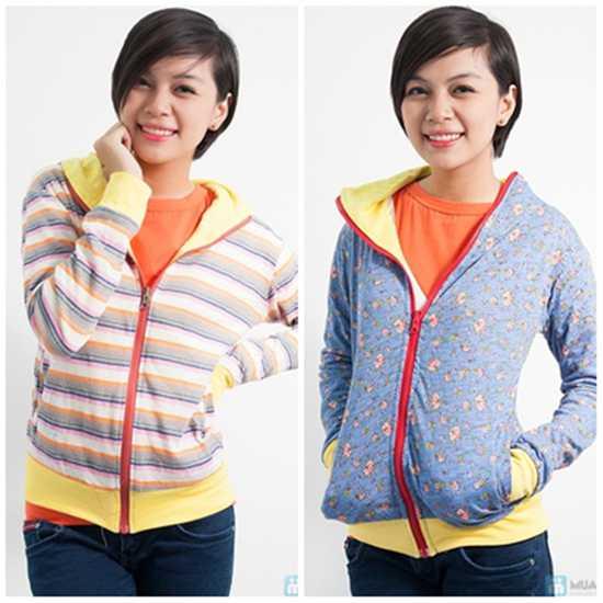 Áo khoác nữ 2 mặt - Chỉ 112.000đ/ 01 áo