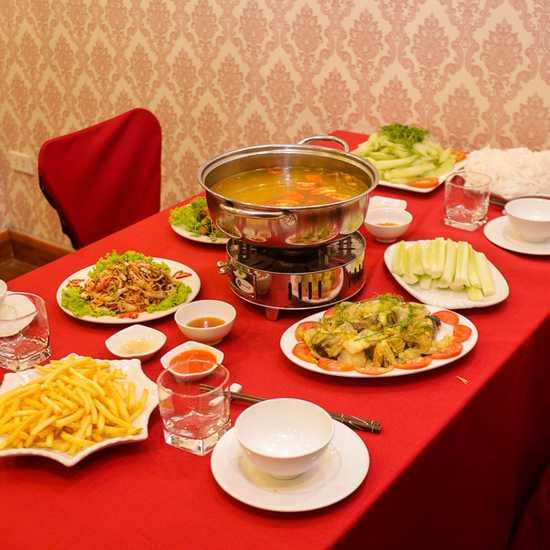 Set cá lăng nhiều món cho 4 người tại NH Sơn Lâm