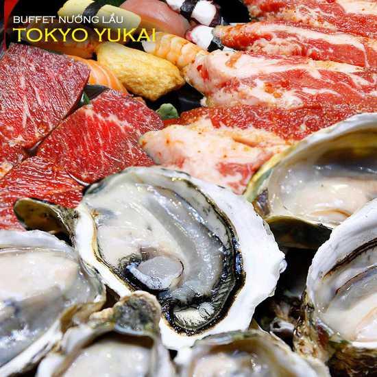 Buffet nướng lẩu ẩm thực Nhật tại Tokyo Yukai