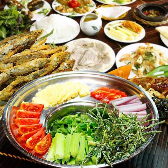 Buffet đặc sản Nam Bộ tại Nhà hàng Miệt Vườn
