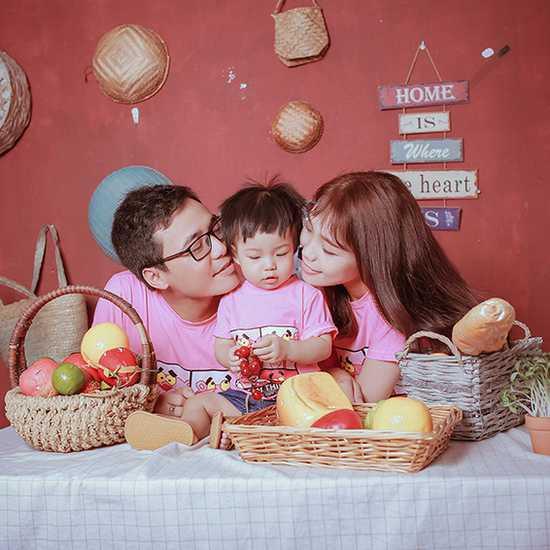 Gói chụp ảnh gia đình nhiều ưu đãi Hà Huy Studio