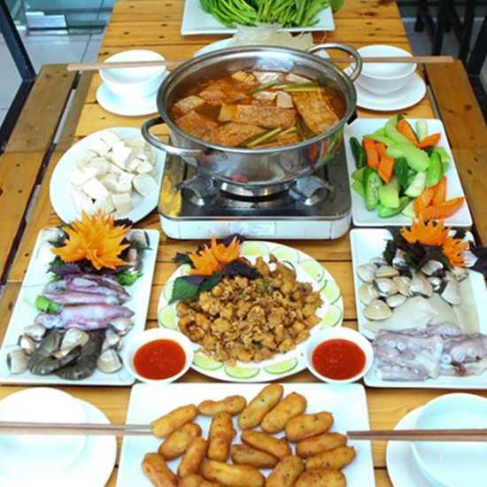 Set Lẩu hải sản Bouga thanh mát ngày hè cho 3-4N