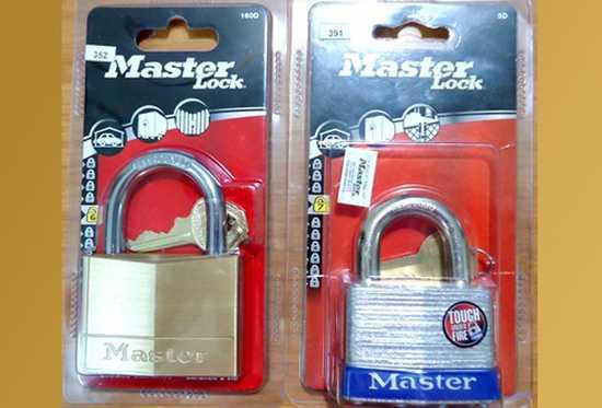 Khóa cửa an toàn 160D hoặc 5D của Master Lock - Nhãn hiệu khóa hàng đầu Thế giới, bảo hành kỹ thuật vĩnh viễn