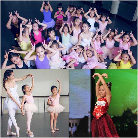 4 buổi học múa cho trẻ