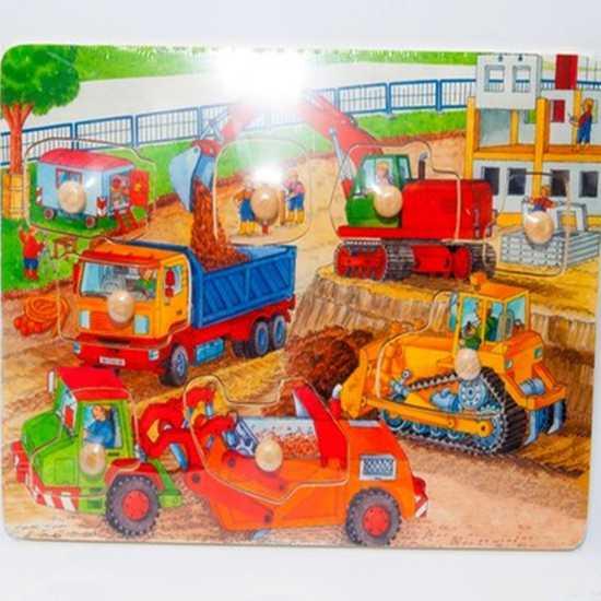 Đồ chơi xếp hình trí tuệ bằng gỗ cho bé