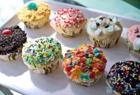 Thưởng thức các loại bánh mềm thơm ngon hấp dẫn tại Rose Blossom Bakery - Chỉ 49.000đ được phiếu 90.000đ