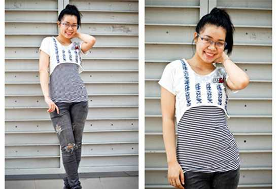 Áo croptop thời trang - Cho bạn gái vẻ đẹp duyên dáng và cá tính - Chỉ 82.000đ/01 bộ