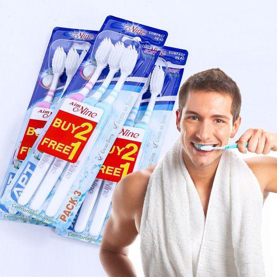 9 bàn chải đánh răng Thái Lan - 2 tầng, sợi mảnh