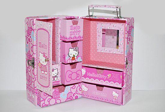 Tủ đựng đồ trang sức Hello Kitty - Đáng yêu và tiện dụng dành cho bạn gái - Chỉ 119.000đ/01 chiếc