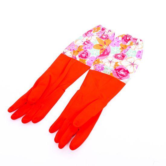2 đôi găng tay cao su lót nỉ cho mùa lạnh