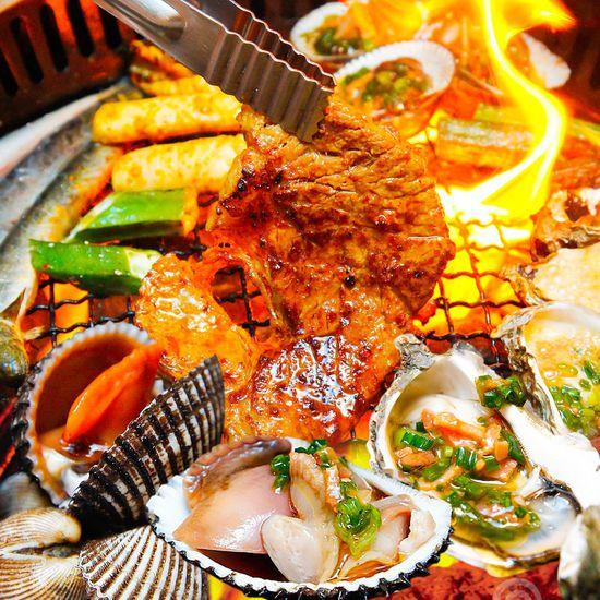 Buffet lẩu nướng không khói BBQ Garden