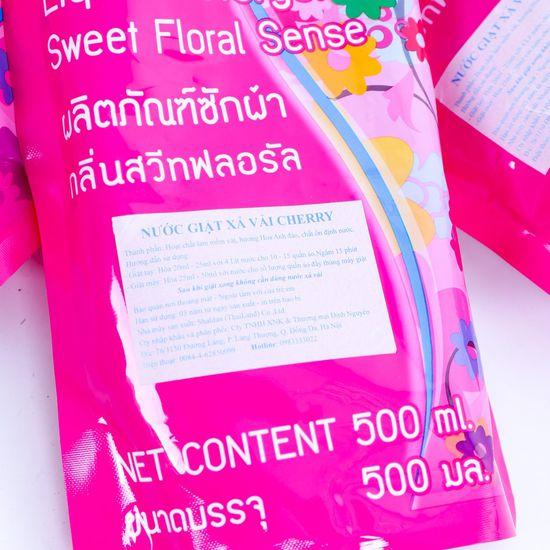 Combo 3 gói nước giặt xả vải Thái Lan 500ml/gói