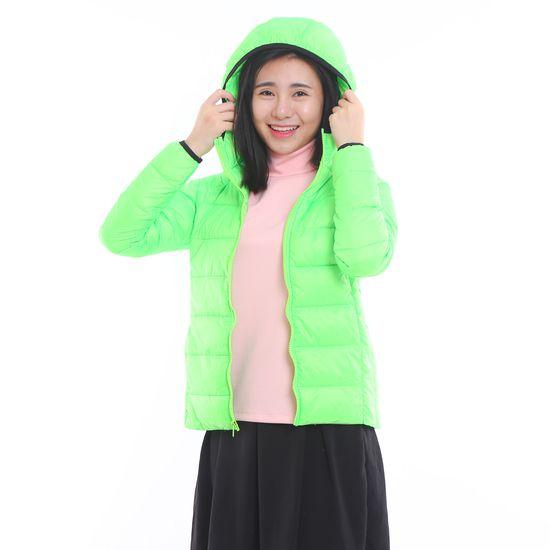 Áo phao nữ có mũ siêu nhẹ, siêu ấm