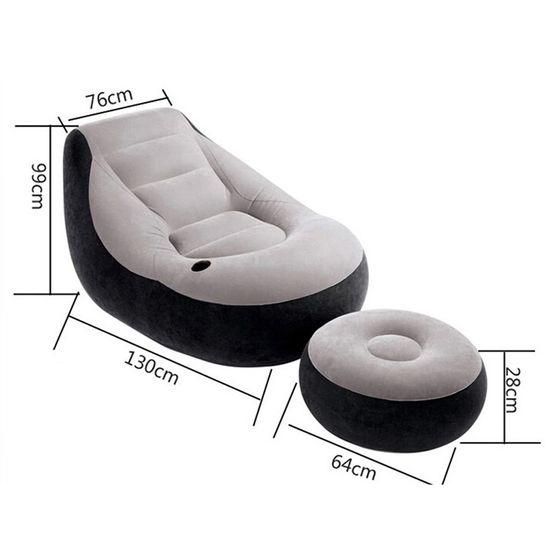 Bộ ghế hơi tựa lưng tặng kèm bơm điện tiện dụng