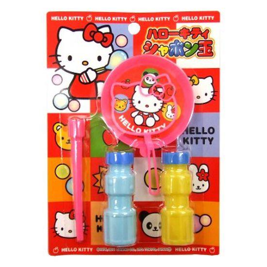 Bộ thổi bong bóng xà phòng hình mèo Kitty
