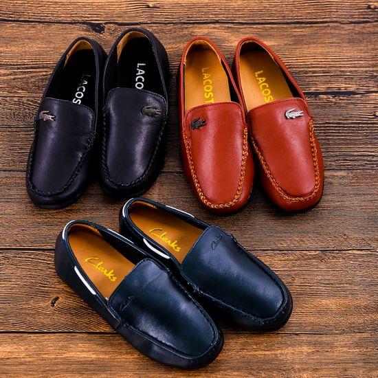Chọn 1 trong 3 mẫu giày lười da bé trai size 33-37