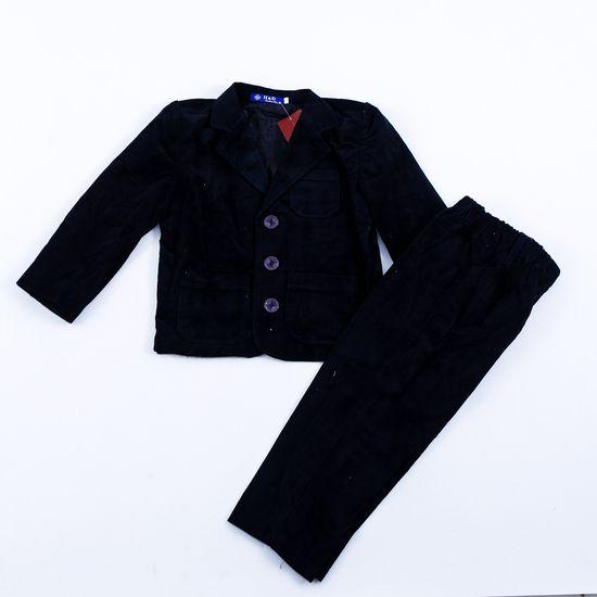 Bộ vest nhung đón Tết cho bé size 1-3