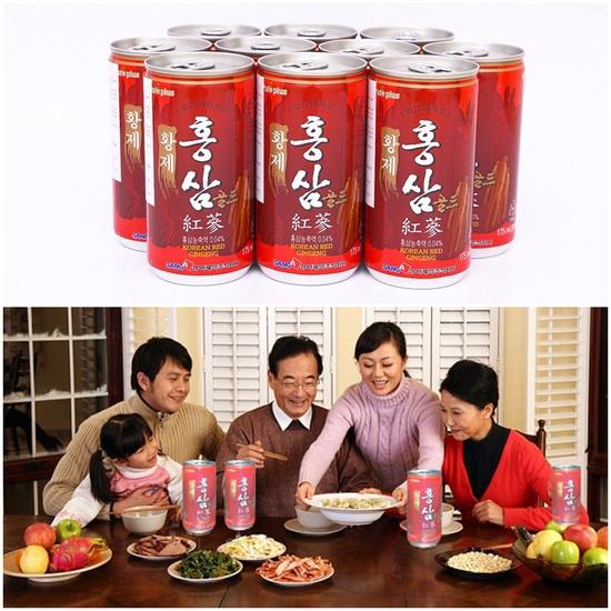 Bồi bổ cơ thể, Tăng cường sinh lực, Tinh thần sảng khoái, Giảm stress với Combo 10 lon nước hồng sâm Hàn Quốc - Chỉ với 126.000đ