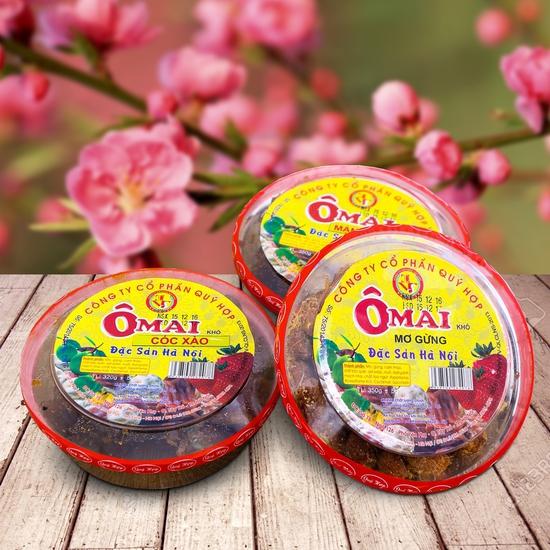 3 hộp ô mai hương vị cổ truyền Hà Nội (350g/1 hộp)