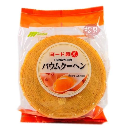 Bánh ngàn lớp Marukin Baumkuchen Nhật Bản 310g
