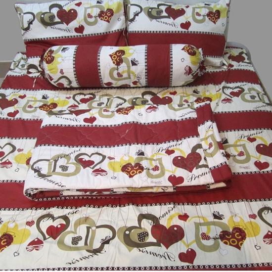 Giấc ngủ ấm áp với bộ Drap vải kate - Chỉ 330.000đ/bộ
