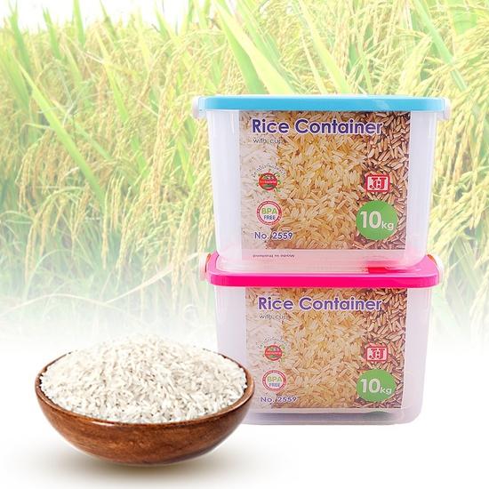 Thùng đựng gạo JCJ 2559 13L - Hàng Thái Lan