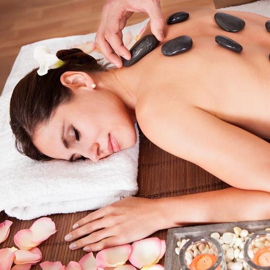 Massage body, chạy đá nóng thư giãn toàn thân 75'