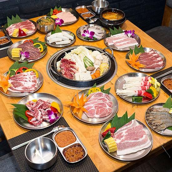 Buffet nướng lẩu NH BBQ Plus Times City tặng pepsi