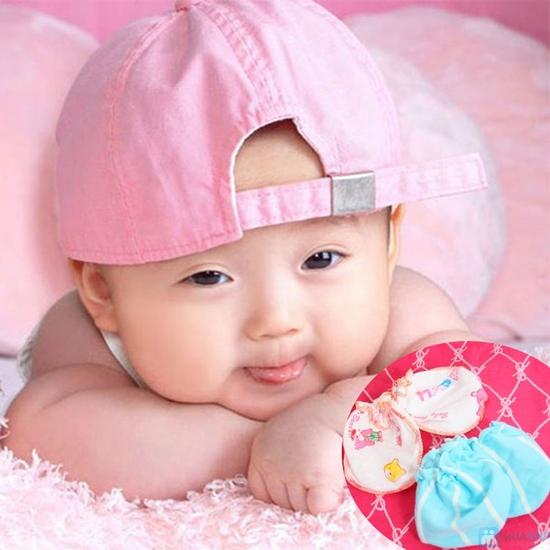 Giữ ấm cơ thể trẻ với Combo 05 bao tay + 05 bao chân dành cho bé - Chỉ 42.000đ