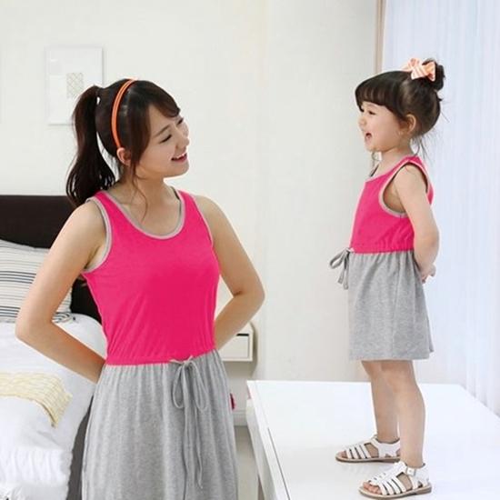 Đầm đôi cho mẹ và bé