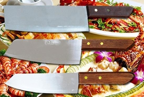 Bộ 03 dao làm bếp rất tiện dụng, trợ thủ đắc lực dành cho chị em nội trợ - Sắc bén, không gỉ