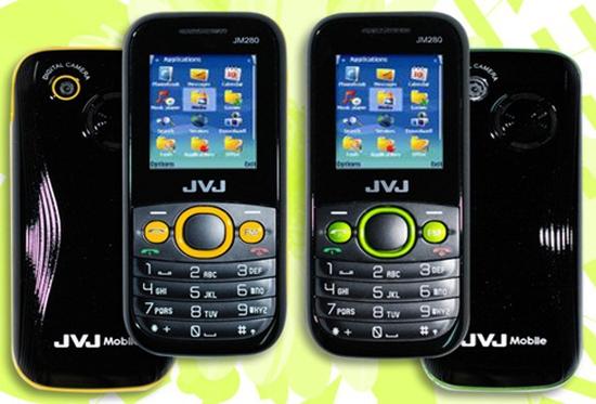 Điện thoại JVJ Mobile JM280 2 sim 2 sóng