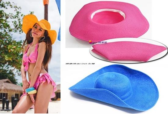 Mũ đi biển tạo kiểu cho bạn gái dáng vẻ yêu kiều - Chỉ với 80.000đ