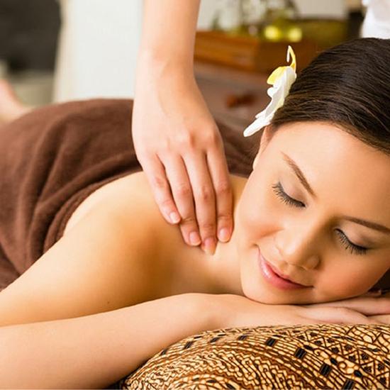 Massage body, chạy đá nóng thư giãn toàn thân 75' Như Anh Spa
