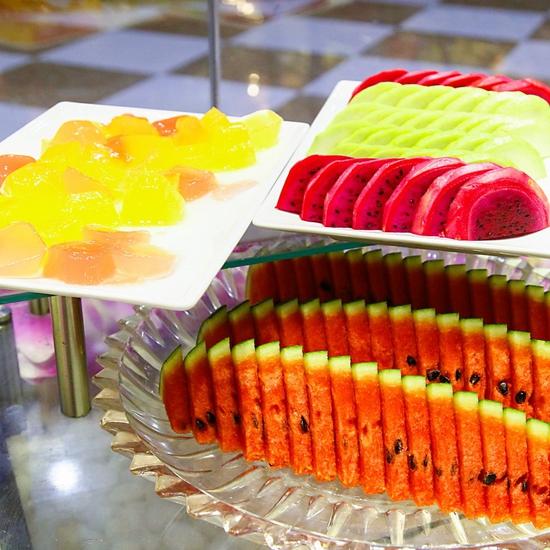 Buffet nướng lẩu không khói tại nhà hàng Thái BBQ