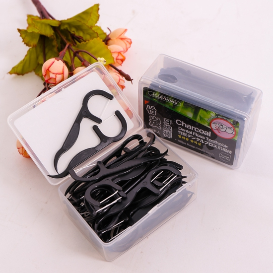 2 hộp tăm chỉ nha khoa Hàn Quốc bảo vệ răng miệng