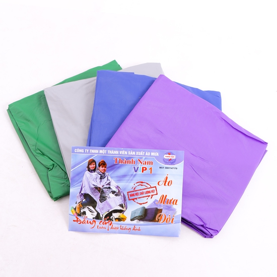 Combo 2 áo mưa đôi Thành Nam tiện dụng