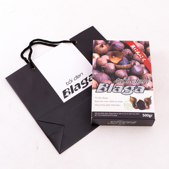 Tỏi đen Blaga 500g lên men 100% công nghệ Nhật Bản