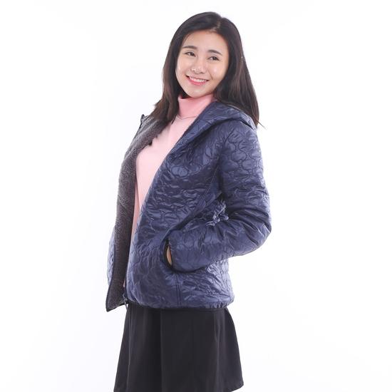 Áo phao lót lông chần trám nhiều màu trẻ trung