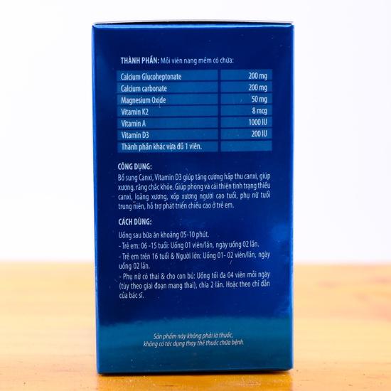 Viên uống tăng chiều cao Calbones hộp 60 viên