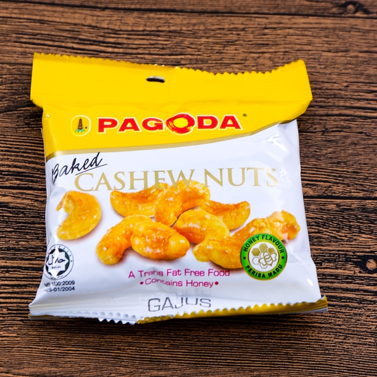 5 gói hạt điều sấy vị mật ong Pagoda - NK Malaysia