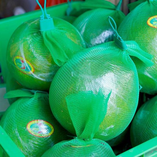 3 quả bưởi da xanh Hương miền Tây (~ 1kg/quả)