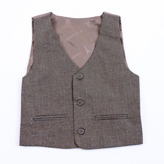 Bộ vest kèm áo gile cho bé trai