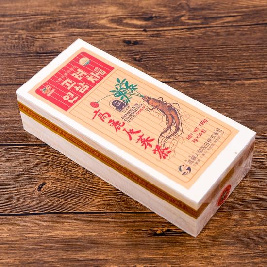 Trà sâm Gold Hàn Quốc hộp gỗ 150g (3g x 50 gói)