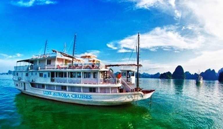 Chiêm ngưỡng vẻ đẹp Vịnh Hạ Long trên du thuyền Luxe Aurora 3 sao, trọn gói 2 ngày 1 đêm khởi hành từ Hà Nội - Chỉ 1.465.000đ/người