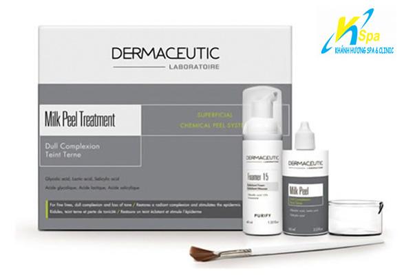 Sử dụng bộ dược phẩm trị liệu chuyên khoa da liễu của các bác sỹ trên thế giới: Derma Ceutic của Pháp
